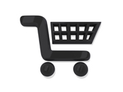 Black Shopping Cart